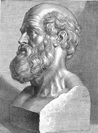 Hippocrates, de vier elementen leer