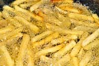 Het frituren van patat
