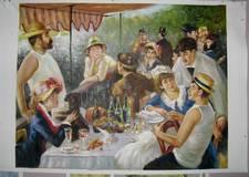 Renoir lunchtafel, luchtafereel