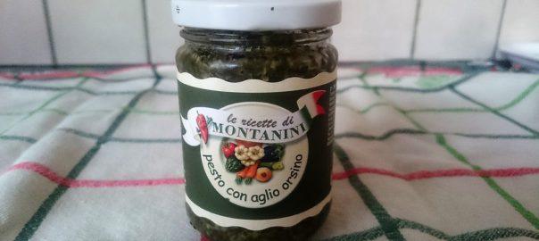 Pesto con aglio orsino