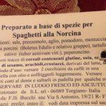 Kruidenmix voor pasta alla Norcina
