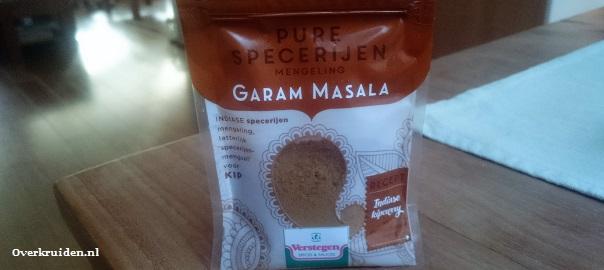 Het Indiase kruidenmengsel Garam Masala